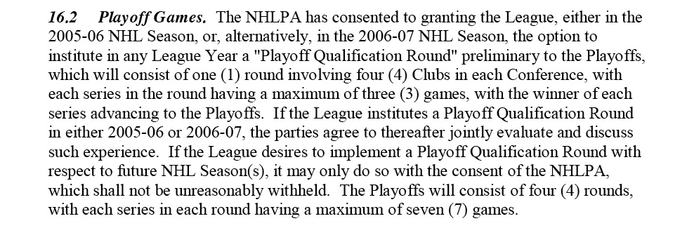 What Will The Post Lockout Nhl Playoffs Look Like