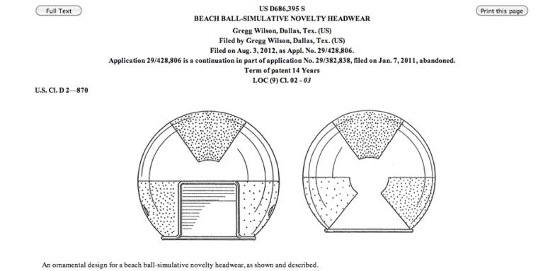 Beachball hat