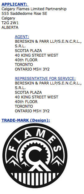Flames trademark